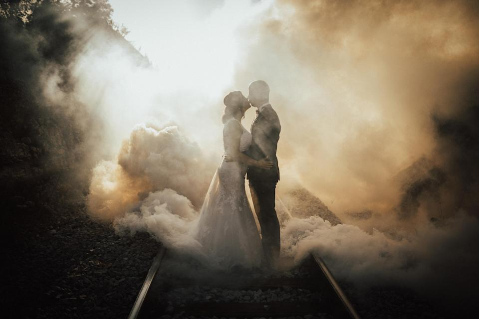 <p>These breathtaking images have been selected as the best of the best. (Photo: Junebug Weddings/Caters News) </p>
