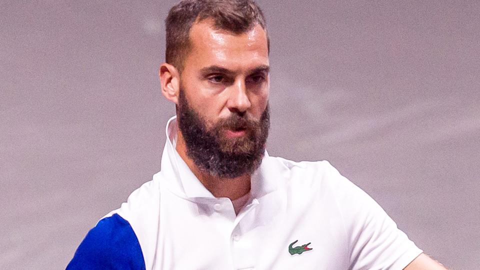 French tennis player Benoit Paire says tennis has become a 'tasteless job' without crowds at events. (Photo by Mario Hommes/DeFodi Images via Getty Images)