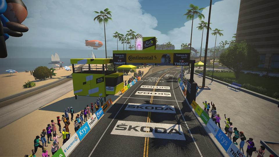 Zwift Tour de France Stage 2
