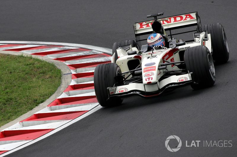"Jenson Button - Honda RA106 - GP de Hungría 2006<span class=""copyright"">Sutton Motorsport Images</span>"