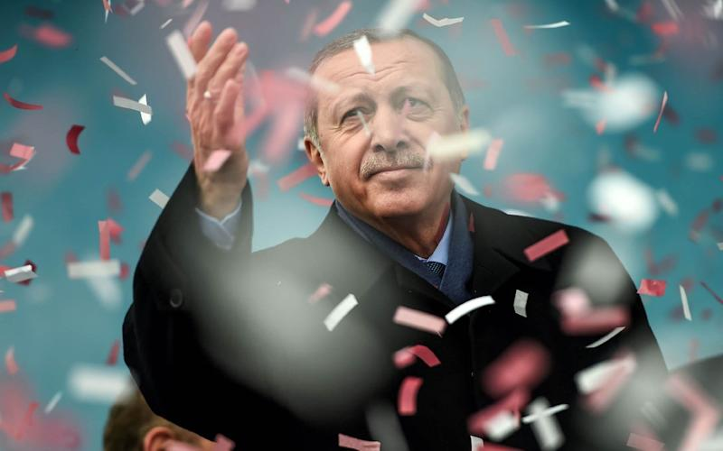 erdogan - AFP or licensors