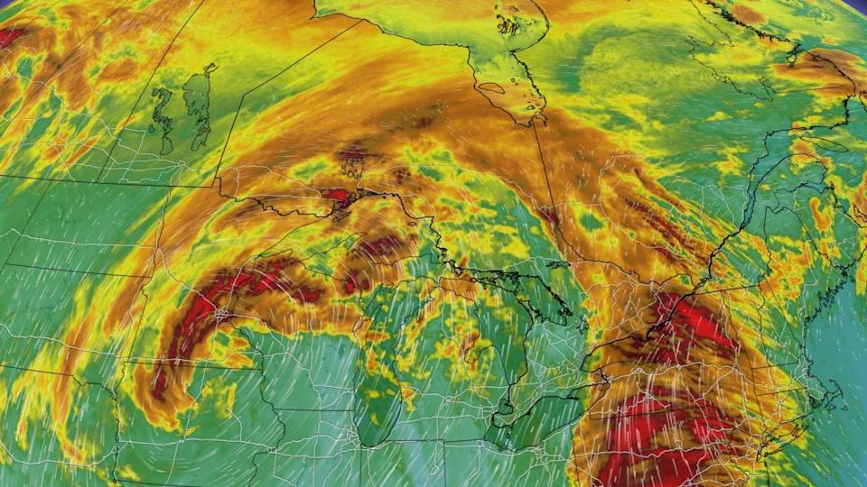 Strong storm to bring 30-50 mm of rain, potentially damaging winds to Ontario