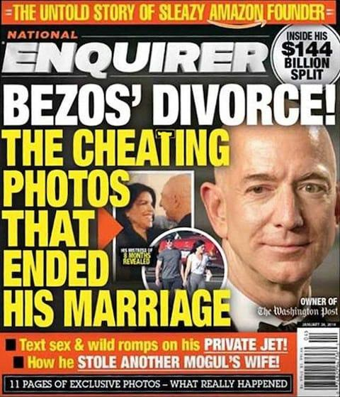 The National Enquirer's publisher has well documented links to Donald Trump