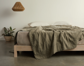 """<p><strong>Parachute Home </strong></p><p>parachutehome.com</p><p><a href=""""https://go.redirectingat.com?id=74968X1596630&url=https%3A%2F%2Fwww.parachutehome.com%2Fproducts%2Fessential-quilt&sref=https%3A%2F%2Fwww.housebeautiful.com%2Fshopping%2Fbest-stores%2Fg34742661%2Fparachute-black-friday-sale-2020%2F"""" rel=""""nofollow noopener"""" target=""""_blank"""" data-ylk=""""slk:BUY NOW"""" class=""""link rapid-noclick-resp"""">BUY NOW</a></p><p><strong><del>$249.20</del> $199 (20% off)</strong></p><p>Found: A chic quilt that will elevate your bed in a snap. Talk about beauty sleep!</p>"""