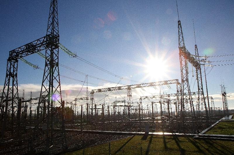 Lithuania's new electricity links to the West have sparked tension with Russia (AFP Photo/Petras Malukas)