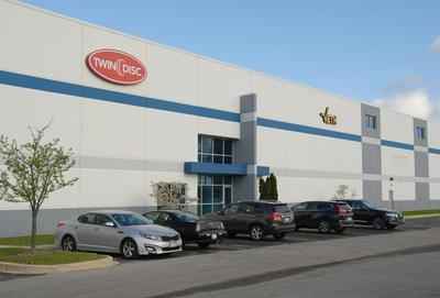 Twin Disc is near completion of an expansion project in Wisconsin.