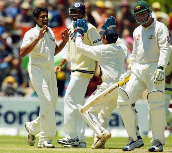 Kumble was the leading wicket-taker of the series