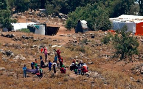 Both Israel and Jordan have said they will not accept refugees fleeing the latest bombardment - Credit: AFP