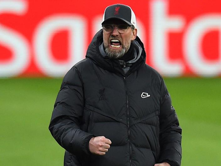 El entrenador del Liverpool, Jurgen Klopp (Liverpool FC via Getty Images)