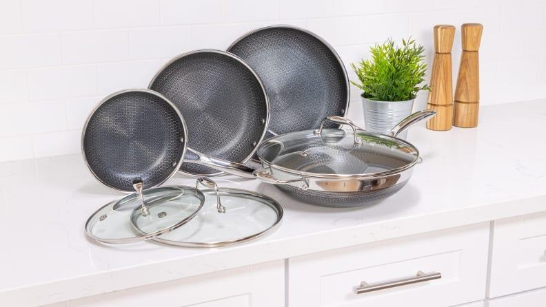 This HexClad 13-piece set is the best overall cookware set we've ever tested and you can get it for a major discount today.