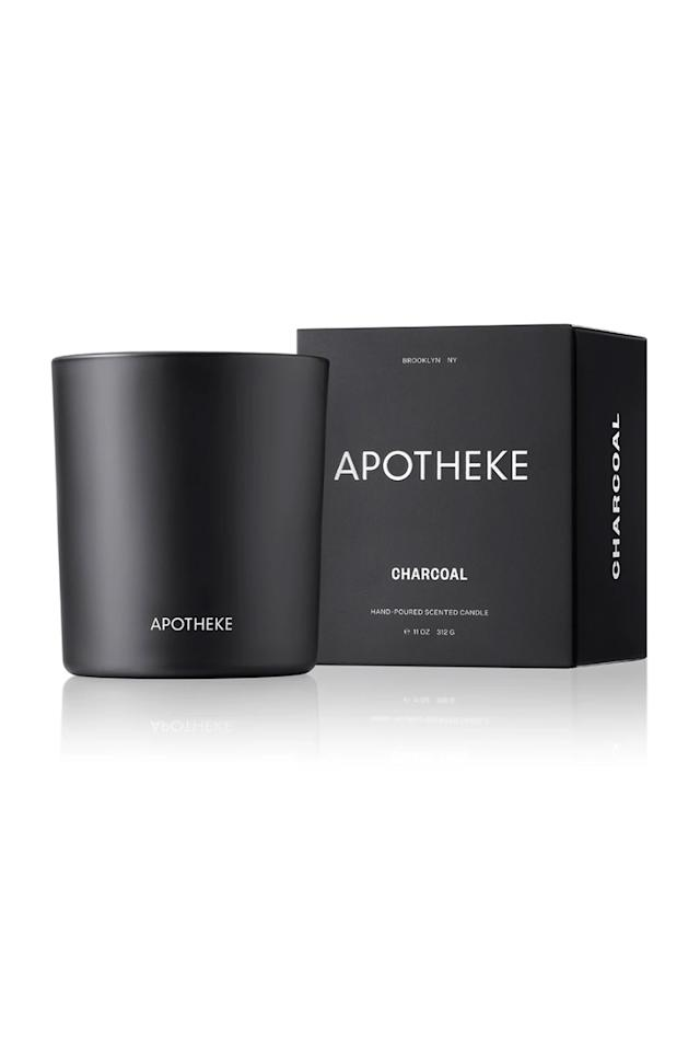 """<p><strong>Apothekeco</strong></p><p>apothekeco.com</p><p><strong>$38.00</strong></p><p><a href=""""https://apothekeco.com/products/binchotan-charcoal-candle"""" target=""""_blank"""">Shop Now</a></p><p>It's not fall until you take a giant whiff of this cedarwood candle, which smells like the great outdoors. Combined with notes of sandalwood, amber, and oud it's one candle that you'll def want to light on chilly nights; plus, it burns up to 70 hours. </p>"""