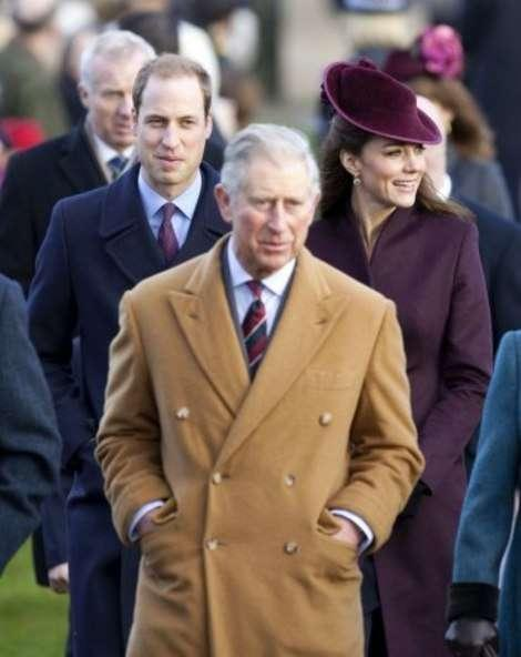 Prince Charles, Prince William, Kate Middleton