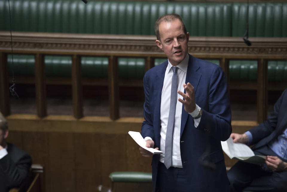 Nick Boles resigned from the Conservative Party in the House of Commons (Picture: PA)