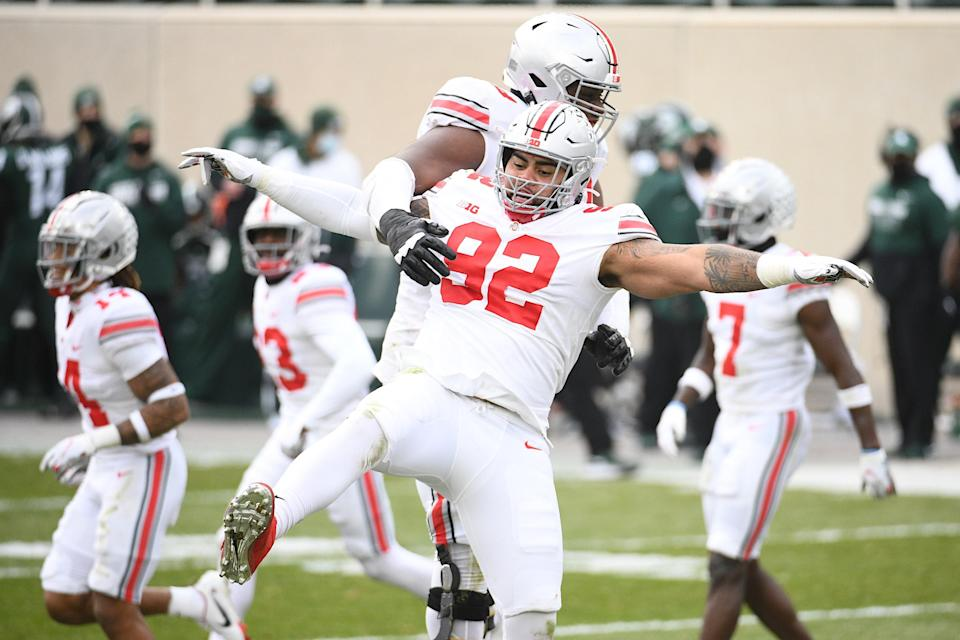 Ohio State Buckeyes vs. Michigan State: Report card and snap counts
