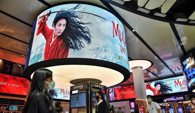 Disney's Mulan remake did not fare as expected in the mainland. Photo: AFP