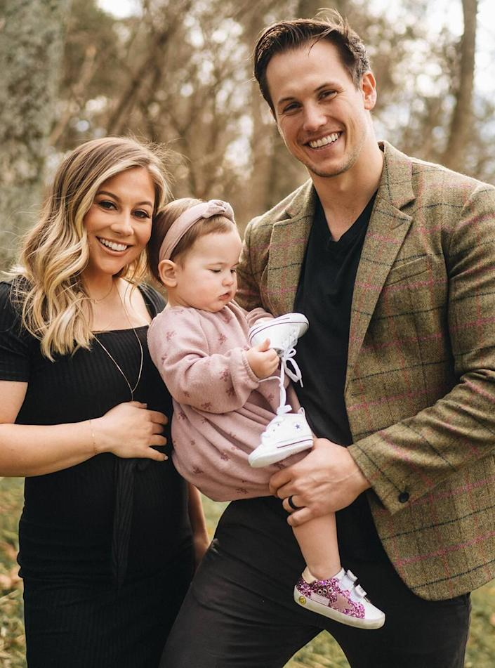 Shawn Johnson East, Andrew East