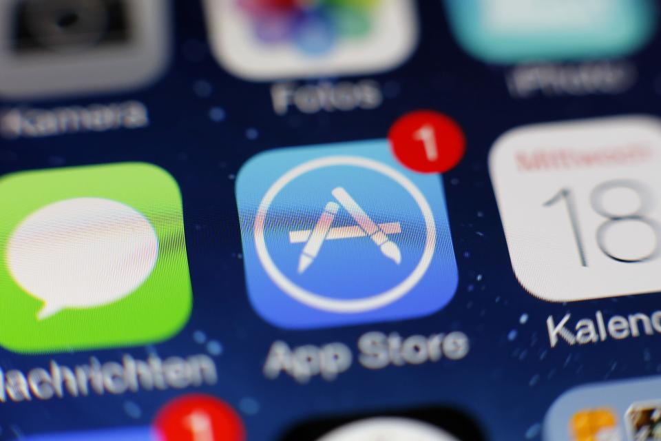 The App store is at the center of an antitrust case in the Supreme Court.