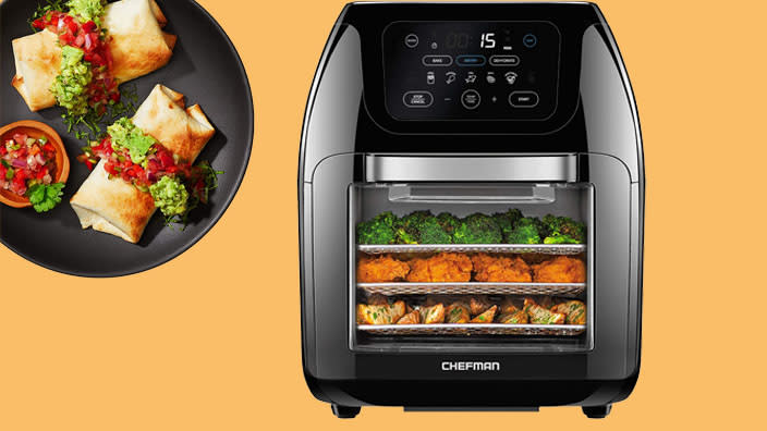 Air fryers by Oster, Cuisinart and more are on sale — save big and stay healthy! (Photo: Amazon)