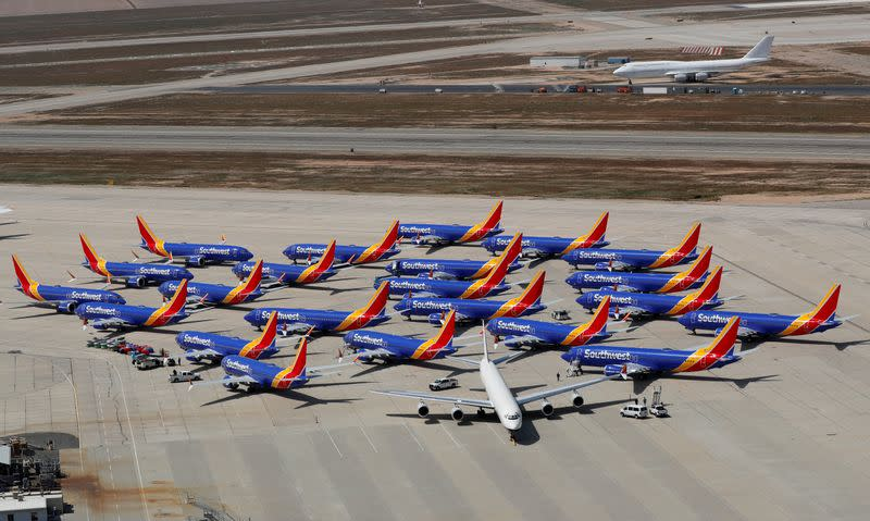 Southwest extends 737 MAX cancellations through June 6