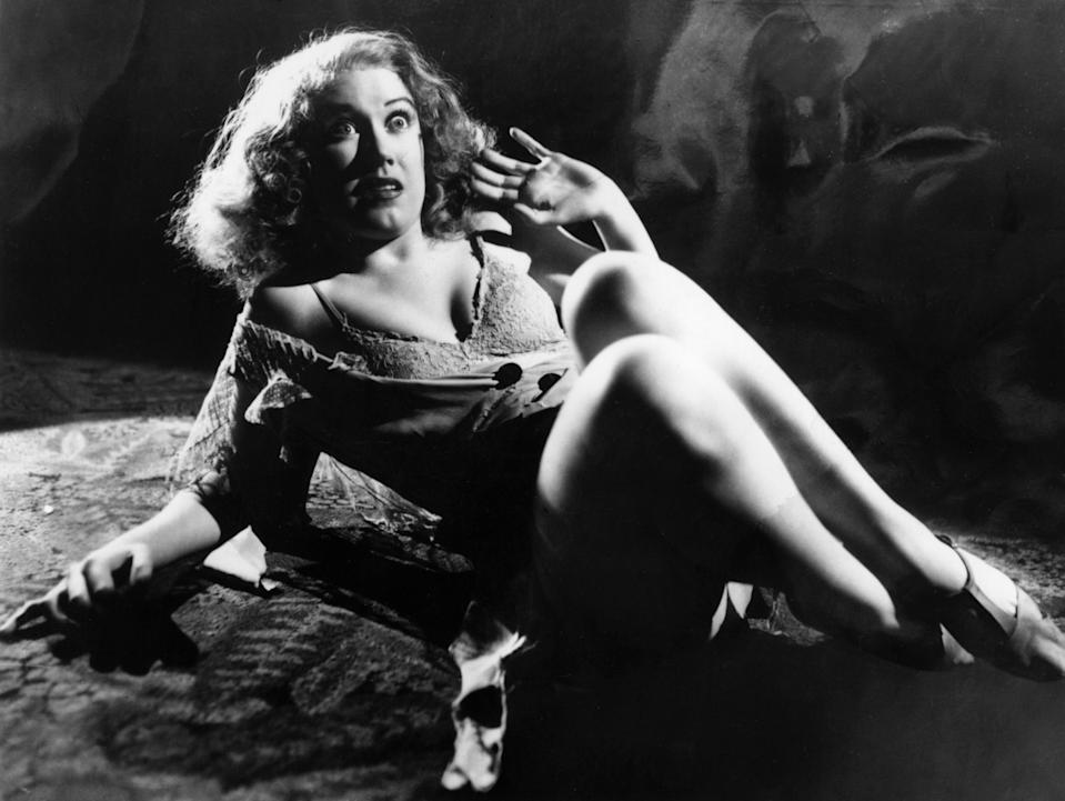 circa 1933:  Actress Fay Wray in RKO's film production of 'King Kong', directed by Merian C Cooper and Ernest Schoedsack.  (Photo by RKO Pictures/Courtesy of Getty Images)
