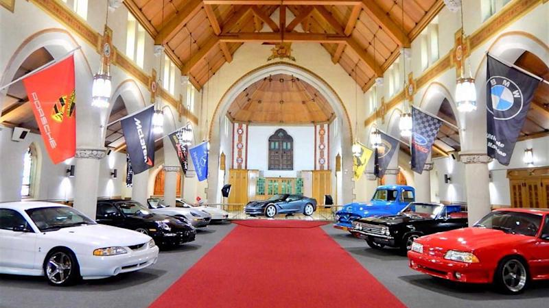 The Holy Grail Garage
