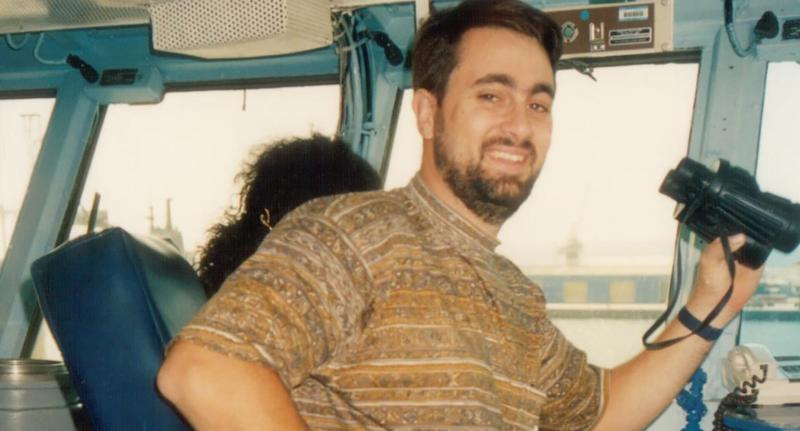 Photo shows Bradley Robert Edwards who was on Thursday found guilty of murdering two women in Perth in the 1990s.