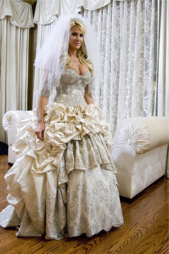 "Kim Zolciak stars in ""Don't Be Tardy for the Wedding."""