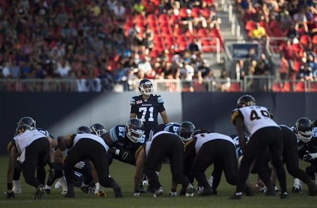 TORONTO — The Toronto Argonauts have signed Canadian kicker/punter Zack Medeiros to their practice roster.The move comes Argos punter Ronnie Pfeffer was hurt in the team's season-opening 64-14 loss against the visiting Hamilton Tiger-Cats last Saturday.Drew Brown handled kicking and punting duties for the rest of the game.Medeiros, 28, returns to Toronto after playing 11 games for the Argos in 2018. The native of London, Ont., hit 15-of-20 field goals and punted 59 times for an average of 46.1 yards.The Argos also announced that Canadian running back Mercer Timmis has retired.The Canadian Press