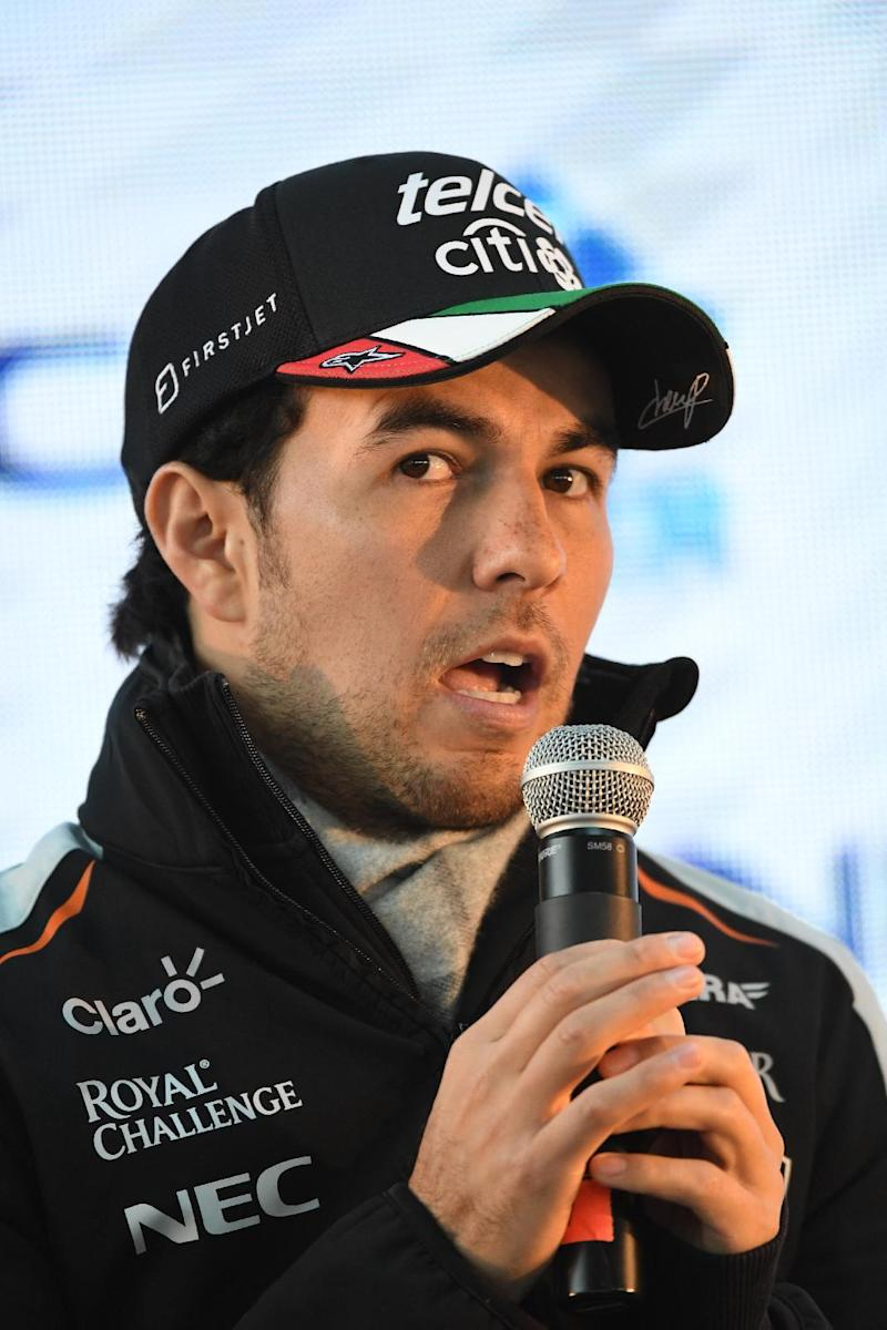 One - Mexican driver Perez sponsor creates charity after Trump fracas