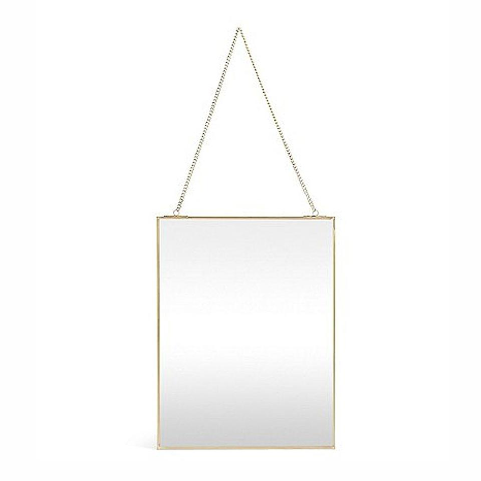 We couldn't believe the high-street price tag of this luxe-looking mirror.