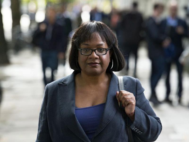 Diane Abbott copes with atrocious abuse, consciously wicked and unthinkingly poisonous, with dignified bravery: EPA