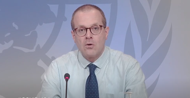 WHO regional director for Europe Hans Kluge has warned the public to follows guidelines set out by governments in containing the spread of the virus. (WHO)