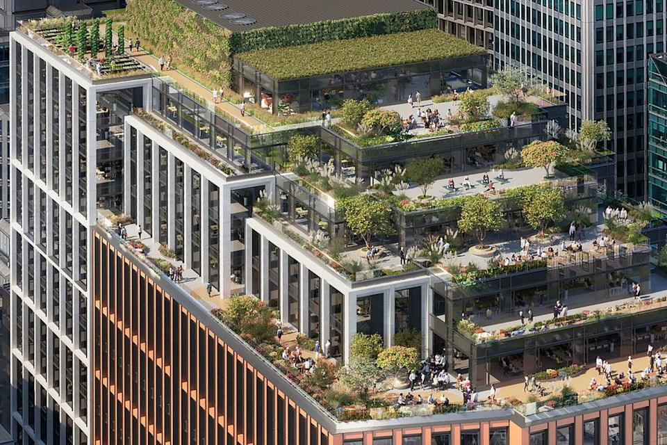 A new office project is planned in London's Victoria (Press image from PR on behalf of Welput and BGO)