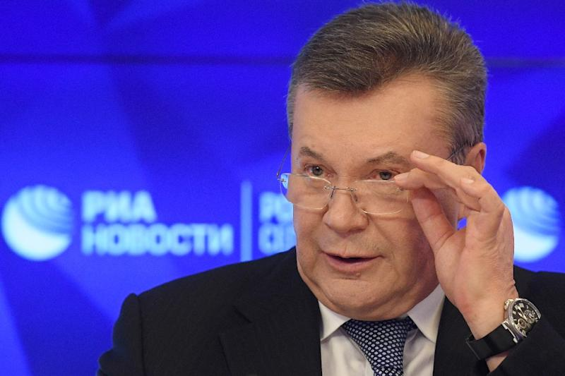 Ukraine's exiled former president Viktor Yanukovych was found guilty in absentia of high treason by a Kiev court last month