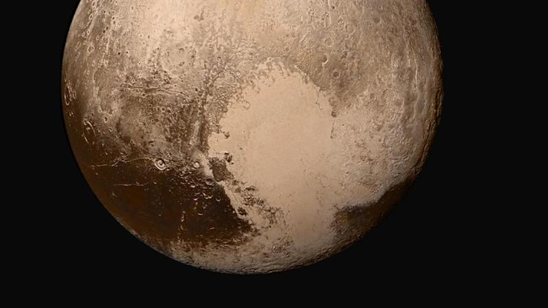 Pluto's weather is driven by the 'beating' of its icy heart