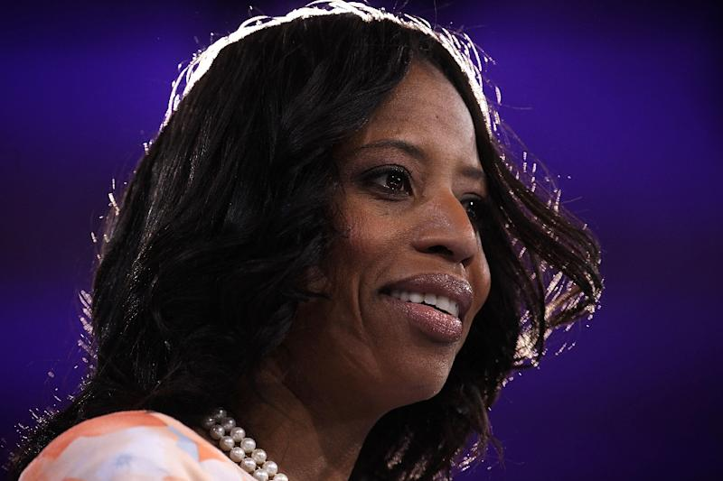 Republican congresswoman Mia Love was among those criticizing Trump's reported comments about Haitians (AFP Photo/ALEX WONG)