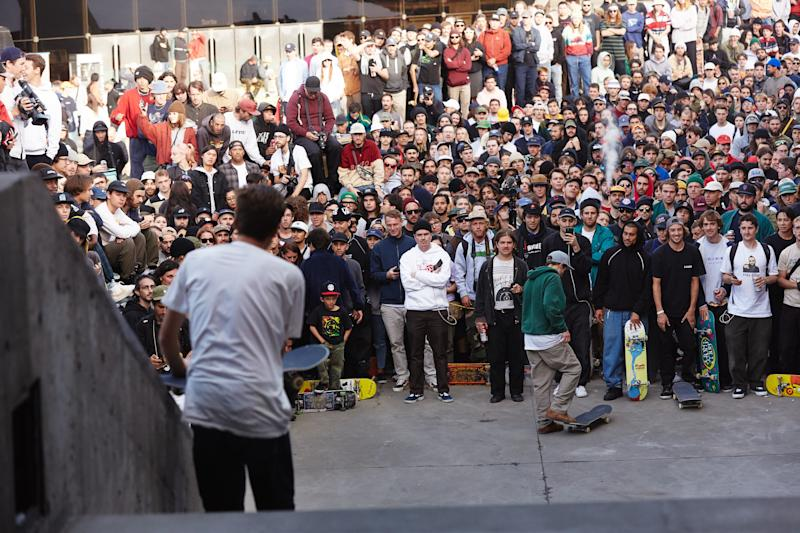 Suciu sizes up the hubba.