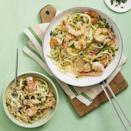 """<p>When you want pasta but aren't fully committed to noodles, zoodles are a great alternative. This recipe features shrimp for a fresh, summery-tasting dish any time of year. </p><p><em><a href=""""https://www.womansday.com/food-recipes/food-drinks/a28353403/shrimp-scampi-with-zoodles-recipe/"""" rel=""""nofollow noopener"""" target=""""_blank"""" data-ylk=""""slk:Get the Shrimp Scampi with Zoodles recipe."""" class=""""link rapid-noclick-resp"""">Get the Shrimp Scampi with Zoodles recipe. </a></em></p>"""