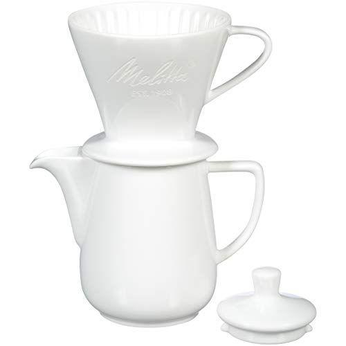 """<p><strong>Melitta</strong></p><p>amazon.com</p><p><strong>$39.99</strong></p><p><a href=""""https://www.amazon.com/dp/B07QFXYV76?tag=syn-yahoo-20&ascsubtag=%5Bartid%7C10055.g.34032026%5Bsrc%7Cyahoo-us"""" target=""""_blank"""">Shop Now</a></p><p>This sturdier material not only will afford you a more durable product but a better, tastier cup of coffee from its wedge shape. Just like a cone bottomed pour over, this shape is ideal for a seasoned pour over drinker who wants a full bodied brew. The same <a href=""""https://www.amazon.com/dp/B00BYF99CA?tag=syn-yahoo-20&ascsubtag=%5Bartid%7C10055.g.34032026%5Bsrc%7Cyahoo-us"""" target=""""_blank"""">pour over coffee maker</a> can be bought without the pitcher, but we appreciate that we can brew more than one cups with this pitcher. <br></p>"""