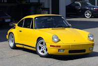 <p>This car, essentially a heavily modified Porsche 911, inspired many young car lovers when it appeared in the 1980s.</p>