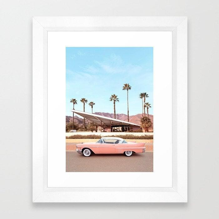 <p>Bring back your favorite travel memories with this <span>Palm Springs Framed Art Print</span> ($42, originally $60).</p>