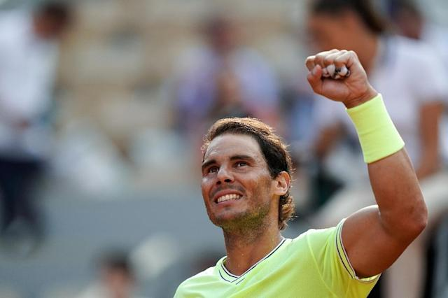 Nadal has beaten Federer all five times they have met at the French Open (AFP Photo/Kenzo TRIBOUILLARD)