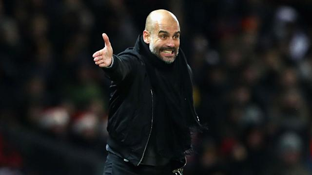 Pep Guardiola Manchester United Manchester City