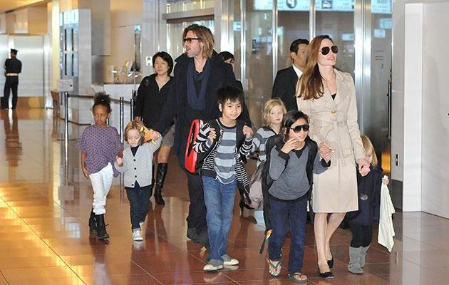The couple have six children together. Source: Getty