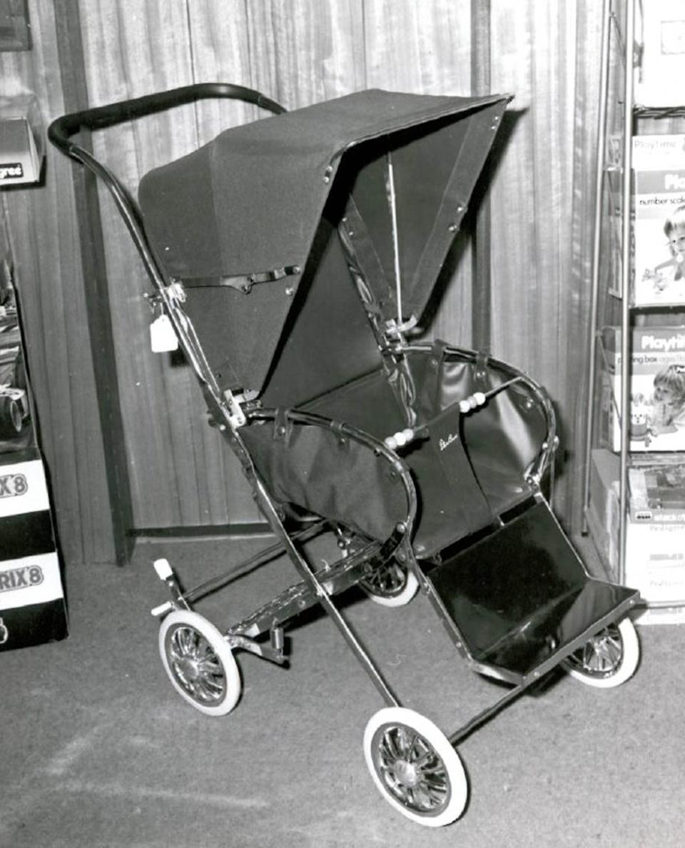 It is believed they had a pram for Andrew identical to this with them when they were travelling (Photo: PA Ready News UK)