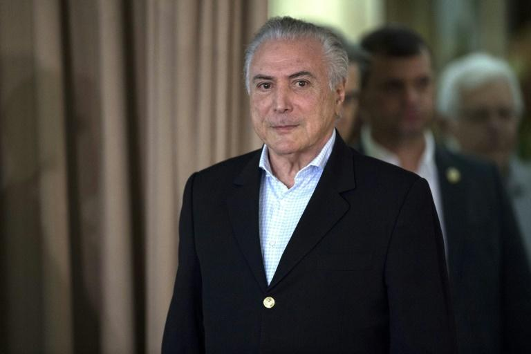Brazil President Michel Temer Beats Back Corruption Charges