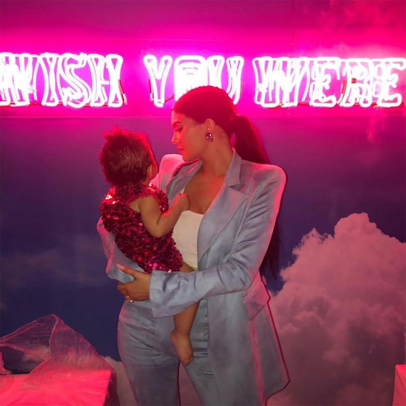 Kylie Jenner and daughter Stormi