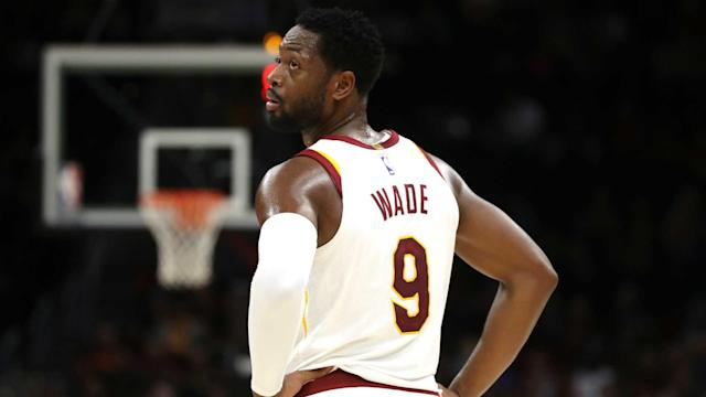 "<a class=""link rapid-noclick-resp"" href=""/nba/players/3708/"" data-ylk=""slk:Dwyane Wade"">Dwyane Wade</a>, who is still trying to find his place on the Cavaliers, only scored five points in the team's loss to the Magic on Saturday. (AP)"