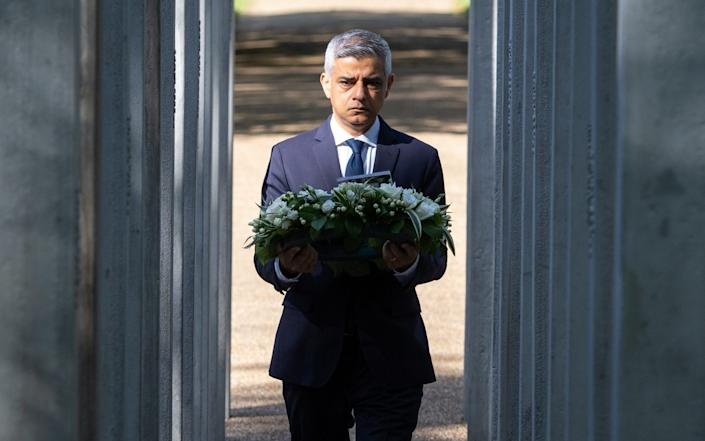 """Mr Khan said: """"Our values of decency, tolerance and mutual respect will always overcome the hate of the terrorists."""" - PA"""