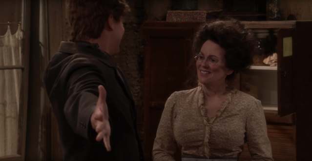 A very 'Will & Grace' Christmas sneak peek: The gang celebrates an old timey holiday